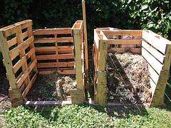 compost pallets