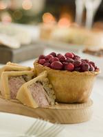 cranberry pie tart