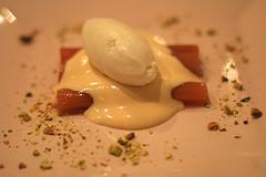 rhubarb sabayon