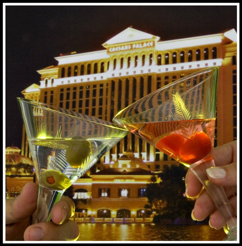 two vodka cocktails
