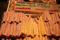 dried fruit logs