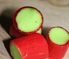 rhubarb-candy