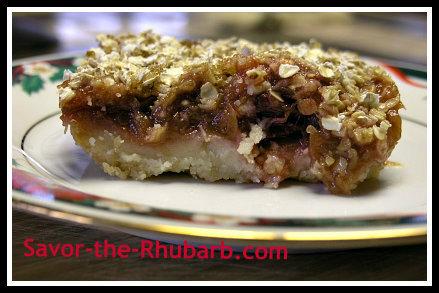 rhubarb shortbread square 1